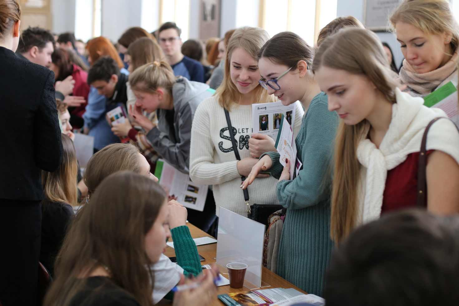 Открываем двери новым студентам