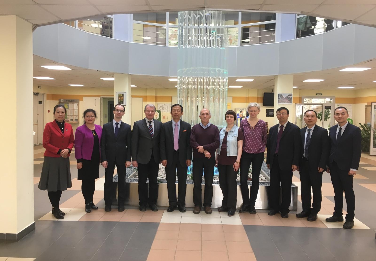 Расширяем горизонты международного сотрудничества: курс на Китай