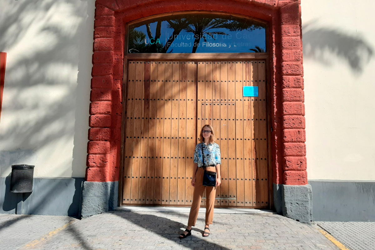 Polytechnic University student about studying at the University of Cadiz during the pandemic