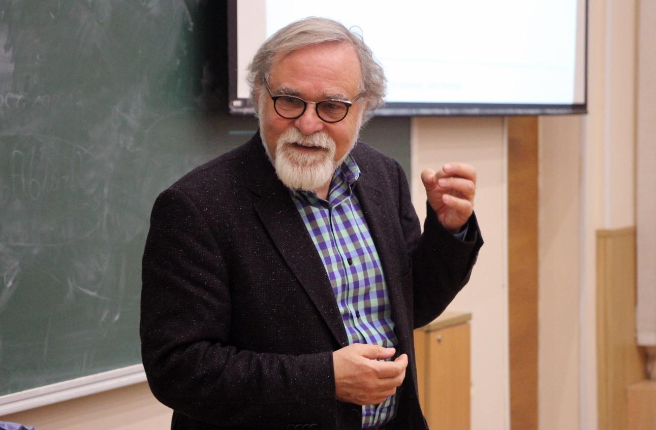 В рамках юбилейного лектория состоялась открытая лекция Альфреда Нордманна