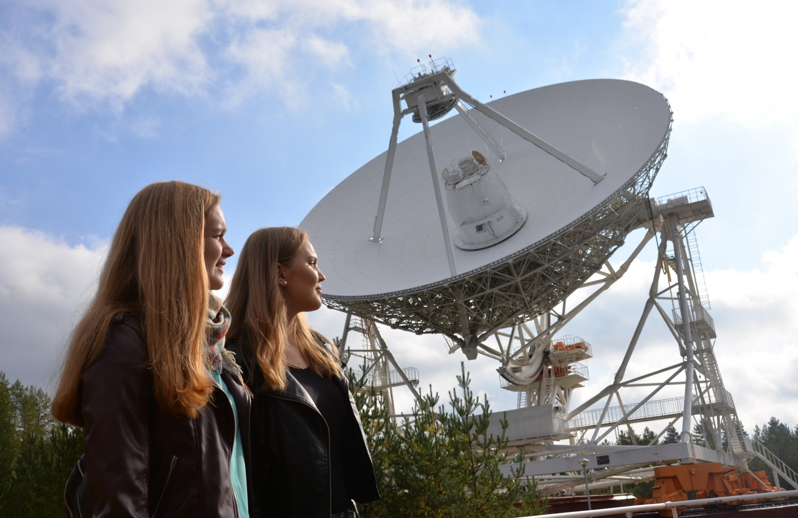 Инаугурация радиотелескопа