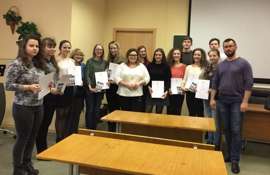 Состоялся очередной выпуск юных лингвистов обучающихся по программе «Введение в лингвистику»