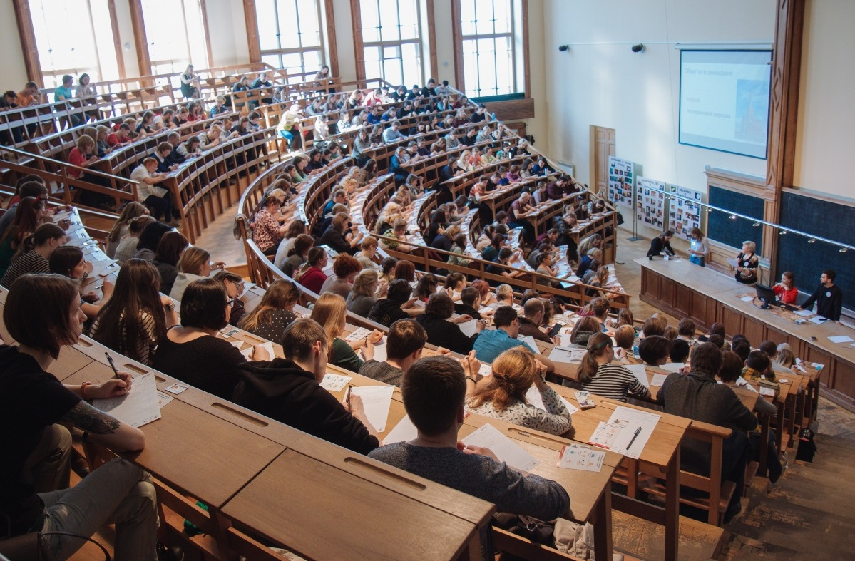 Профессор ВШОН С.Б. Ульянова прочитала текст