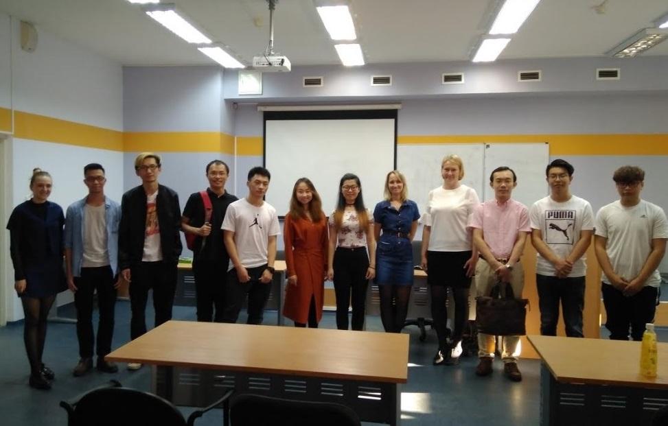 Состоялась очередная встреча разговорного клуба «Китайского языка и культуры Китая»