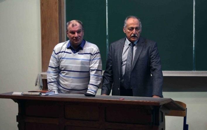 Состоялась открытая лекция профессора Арона Шнеера (Израиль) и профессора ВШОН ГИ Бориса Ковалева