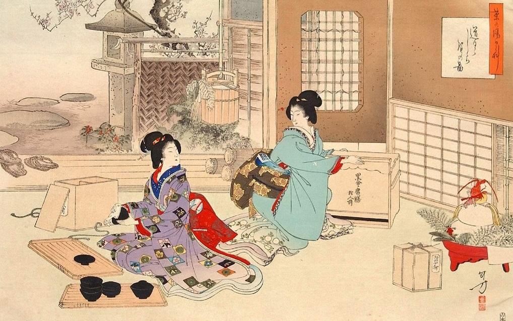 Гуманитарии освоили искусство чайной церемонии
