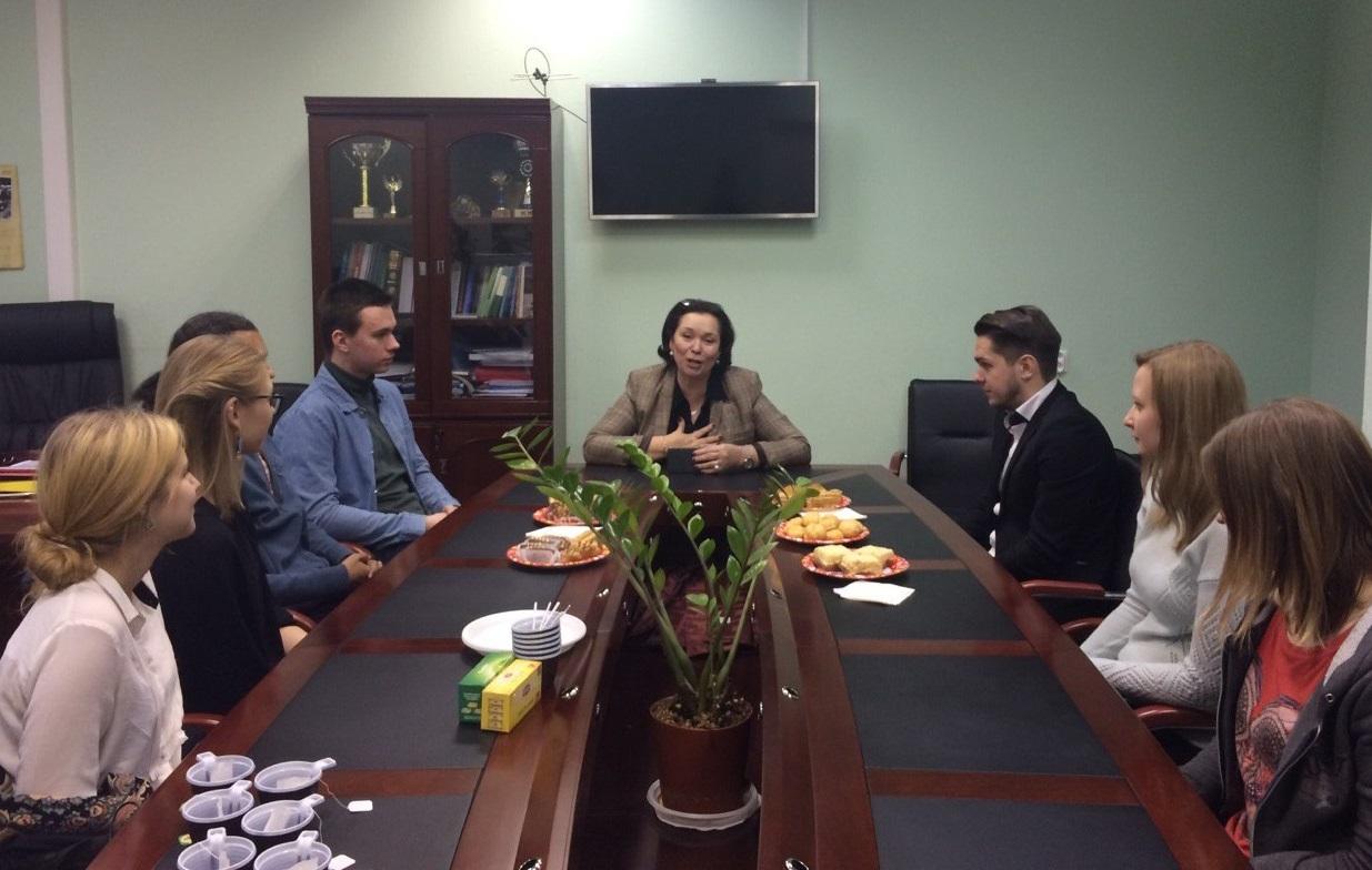 Состоялась встреча Н.И. Алмазовой со студентами кафедры РСО ГИ