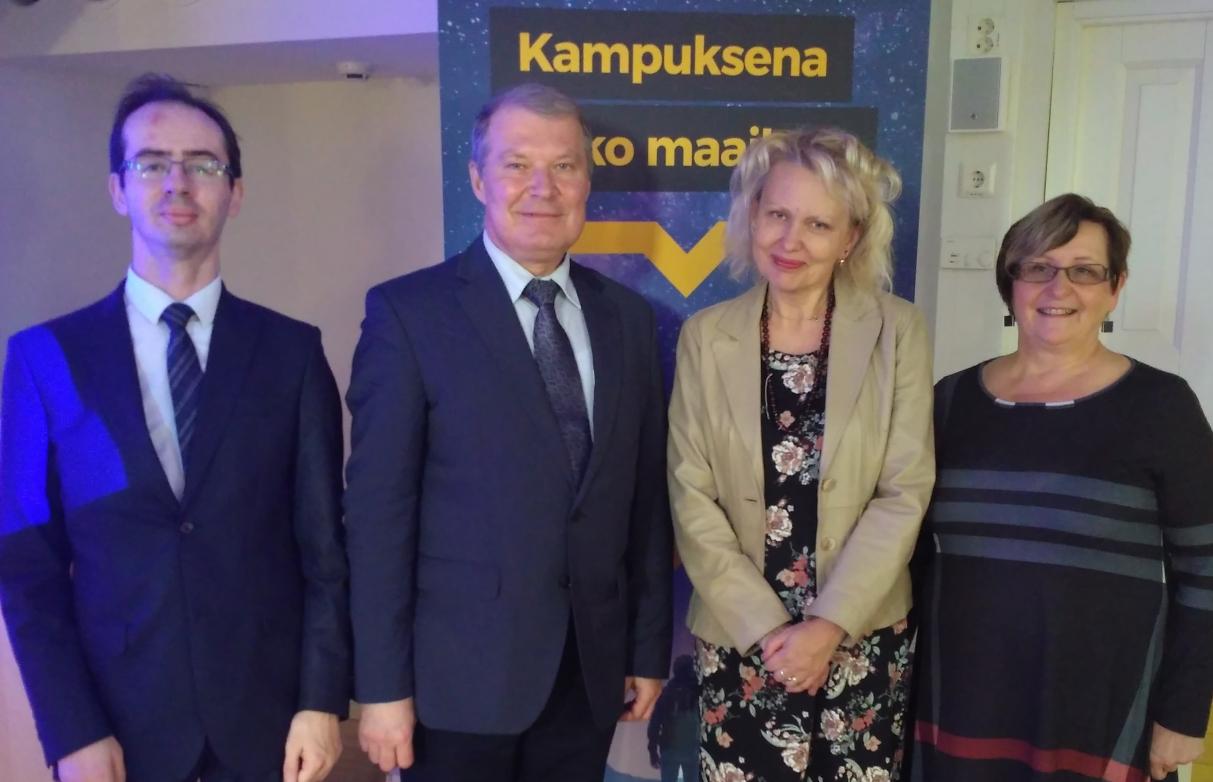 ГИ продолжает развивать партнерские отношения с Университетом прикладных наук Юго-Восточной Финляндии