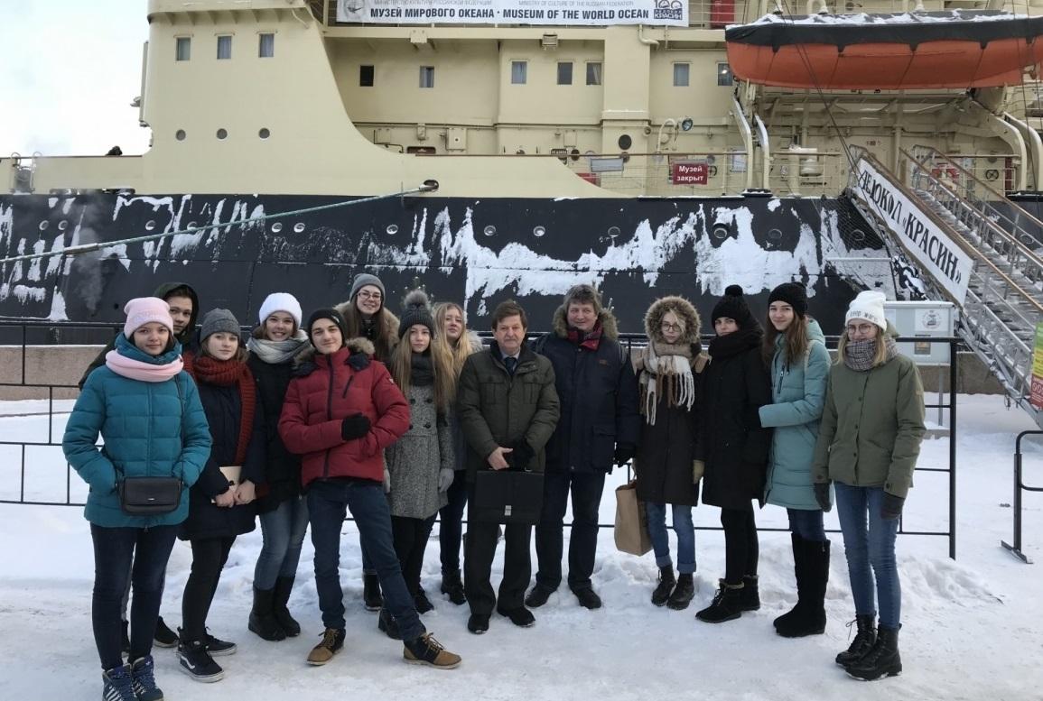 Преподаватели ВШОН на арктической конференции на борту ледокола