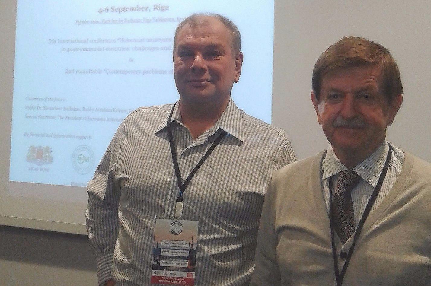 Сотрудники ВШОН ГИ выступили на международной конференции в Латвии