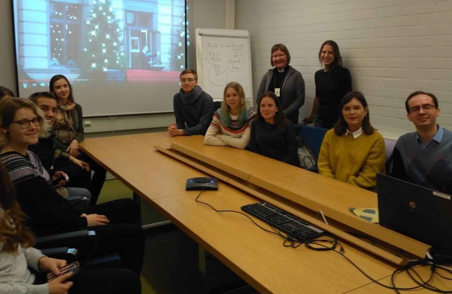 Студенты 1 курса МО ГИ  посетили Сайменский университет прикладных наук (Финляндия)
