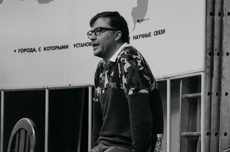 Открытая лекция с директором компании St. Friday Socks Сергеем Тонковым