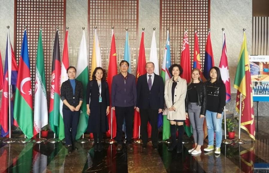 Состоялась рабочая встреча с представителями Шанхайского университета политических наук и права