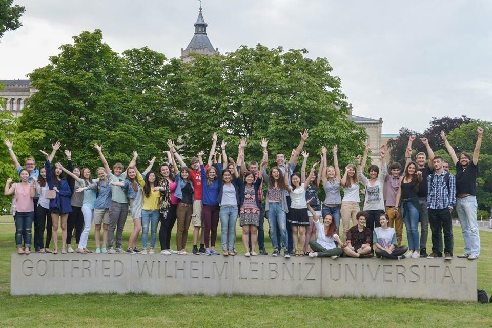 Как наши студенты Германию покоряют